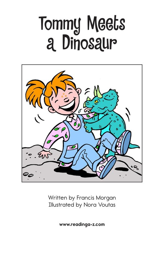Book Preview For Tommy Meets a Dinosaur Page 2