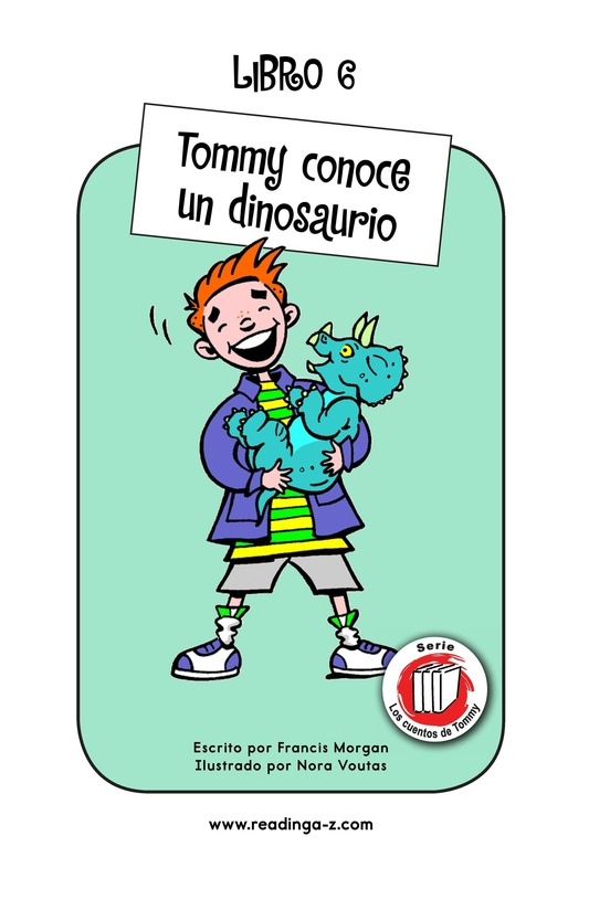 Book Preview For Tommy Meets a Dinosaur Page 1
