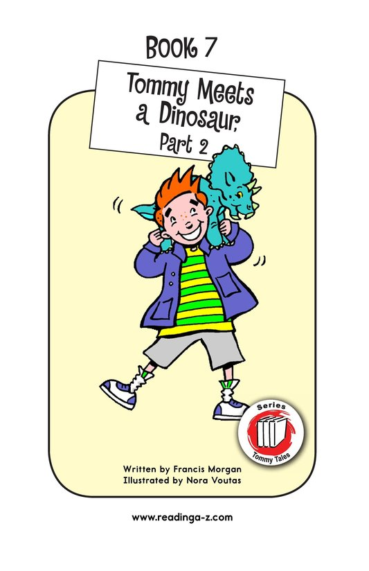 Book Preview For Tommy Meets A Dinosaur (Part 2) Page 1