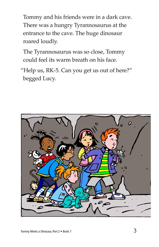 Book Preview For Tommy Meets A Dinosaur (Part 2) Page 3