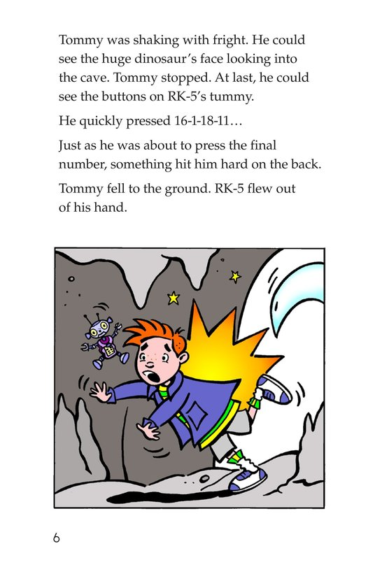 Book Preview For Tommy Meets A Dinosaur (Part 2) Page 6