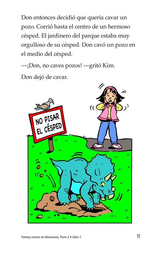 Book Preview For Tommy Meets A Dinosaur (Part 2) Page 11