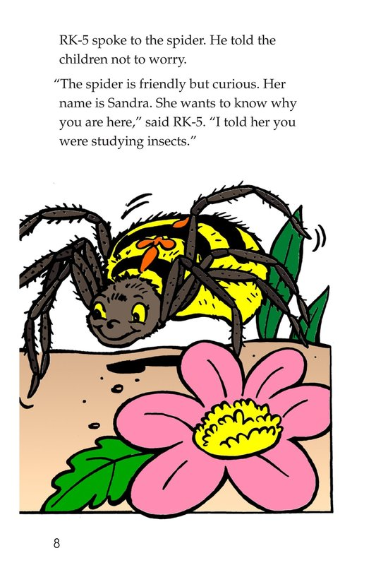 Book Preview For Tommy and the Giant Cockroach Page 8