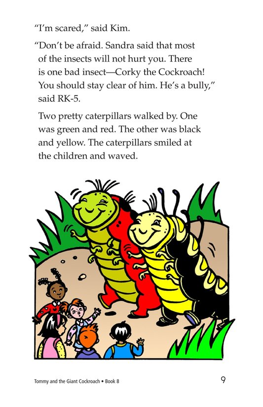 Book Preview For Tommy and the Giant Cockroach Page 9