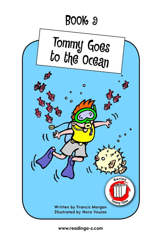 Book Preview For Tommy Goes to the Ocean Page 1
