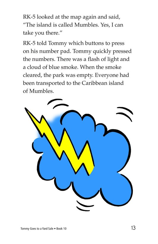 Book Preview For Tommy Goes to a Yard Sale Page 13