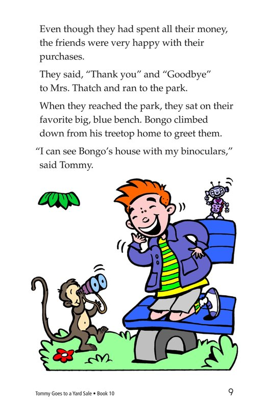 Book Preview For Tommy Goes to a Yard Sale Page 9