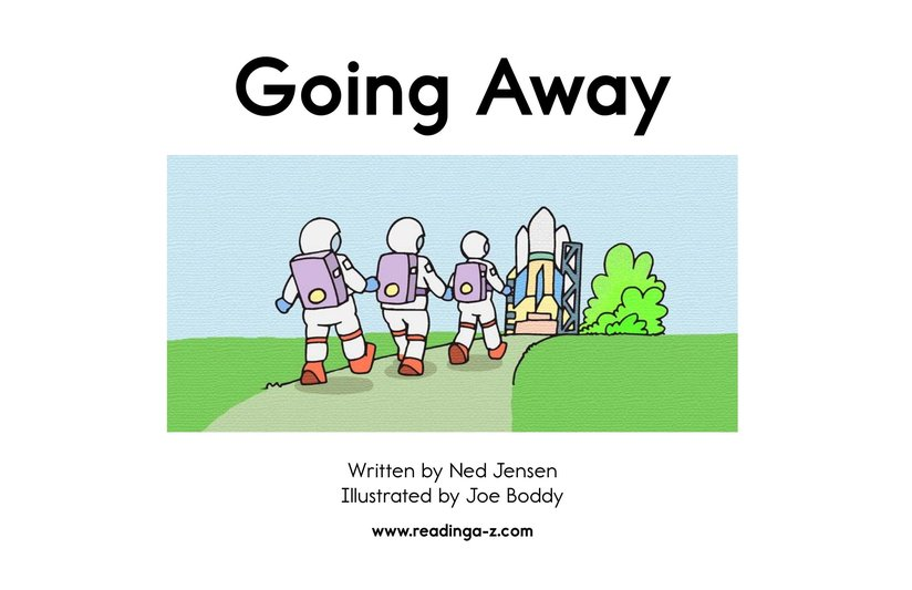 Book Preview For Going Away Page 2