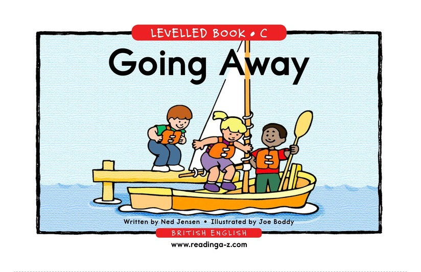 Book Preview For Going Away Page 1