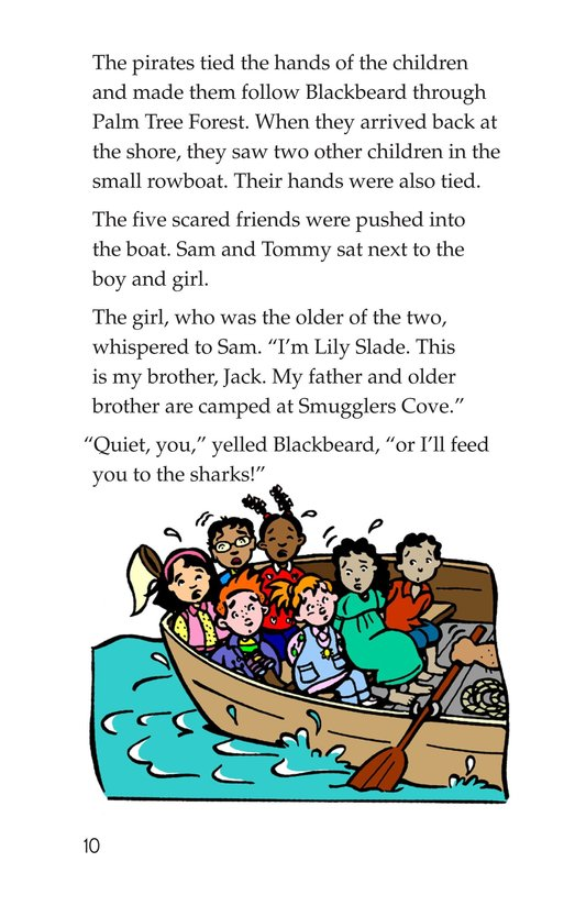 Book Preview For Tommy Goes to the Caribbean Page 10