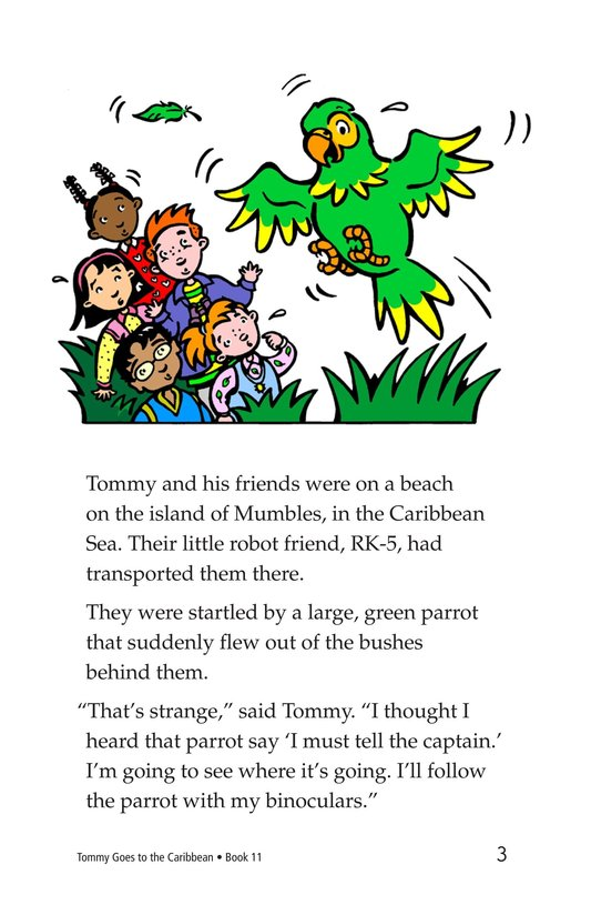 Book Preview For Tommy Goes to the Caribbean Page 3