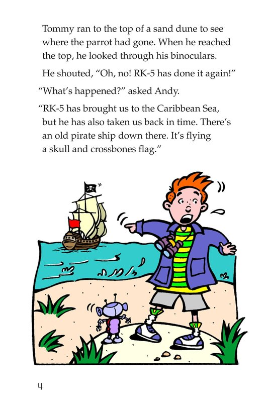 Book Preview For Tommy Goes to the Caribbean Page 4