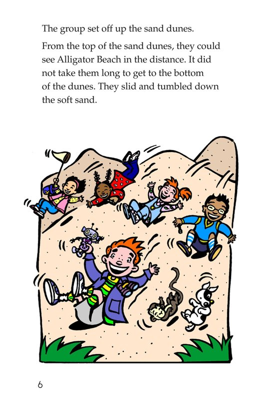 Book Preview For Tommy Goes to the Caribbean Page 6