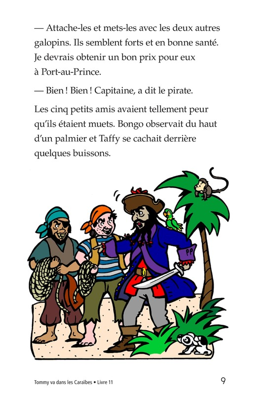 Book Preview For Tommy Goes to the Caribbean Page 9