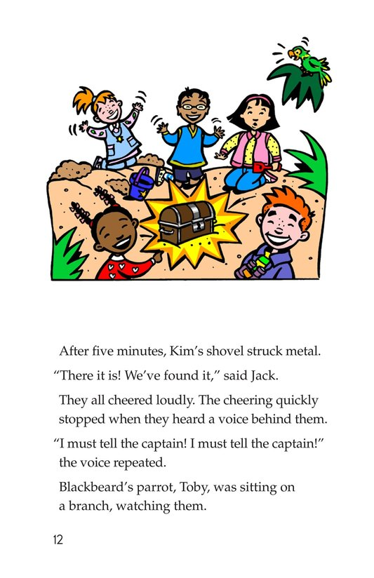 Book Preview For Tommy and the Pirates Page 12