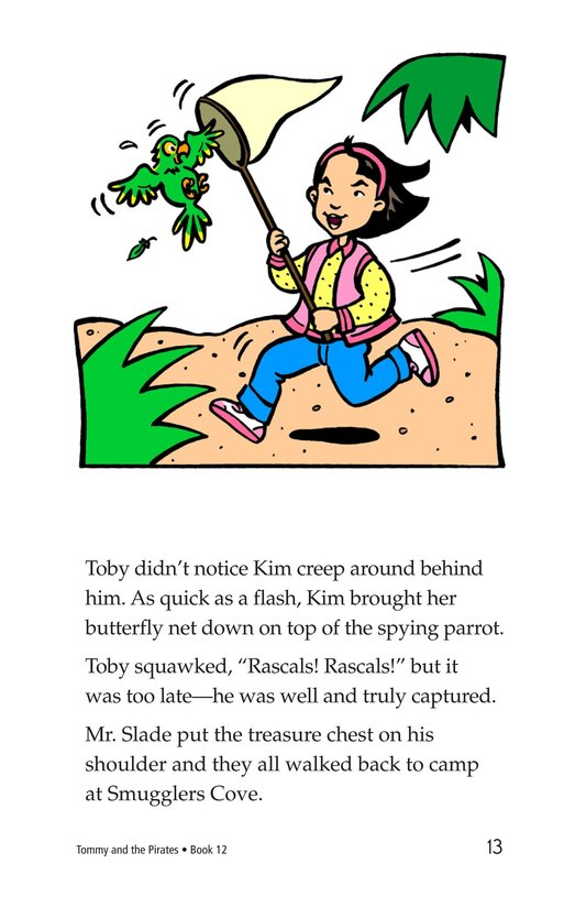 Book Preview For Tommy and the Pirates Page 13