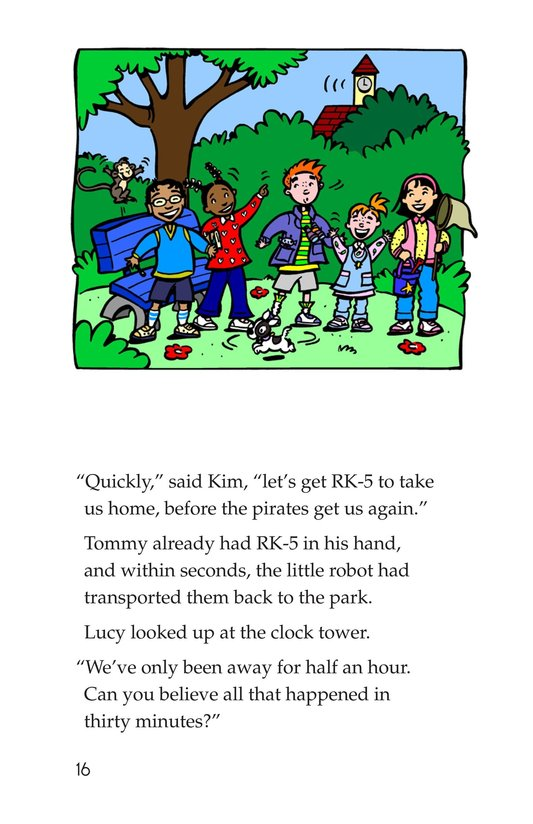 Book Preview For Tommy and the Pirates Page 16