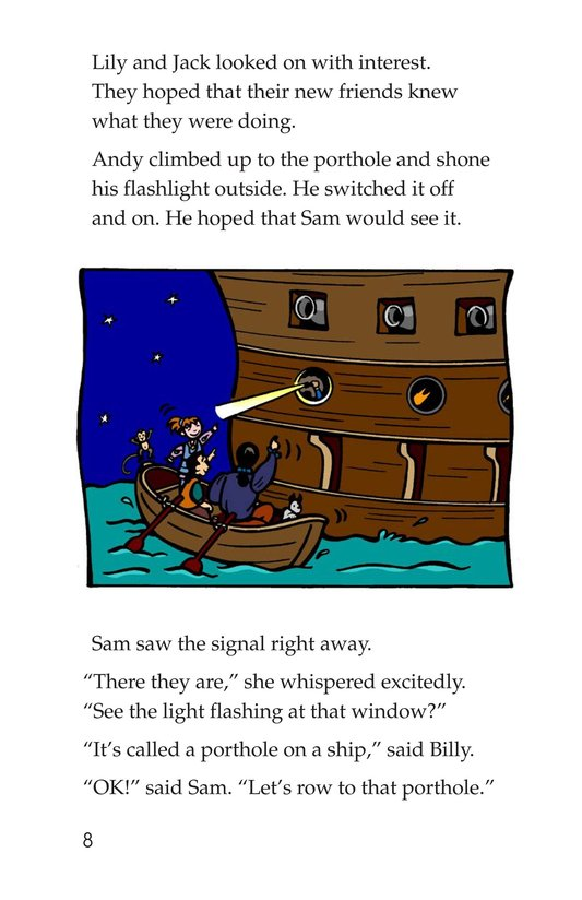 Book Preview For Tommy and the Pirates Page 8