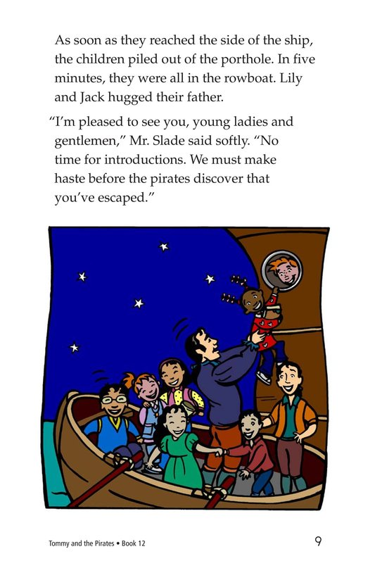 Book Preview For Tommy and the Pirates Page 9