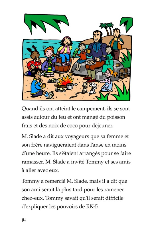 Book Preview For Tommy and the Pirates Page 14