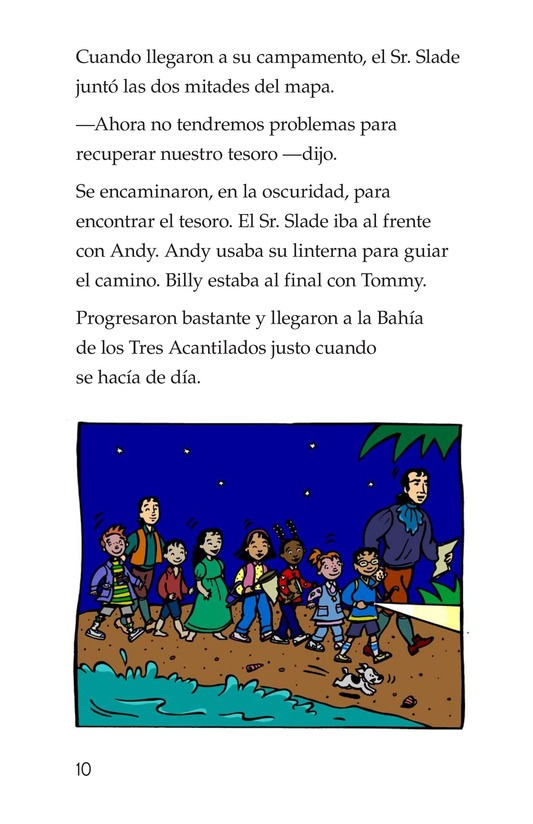 Book Preview For Tommy and the Pirates Page 10