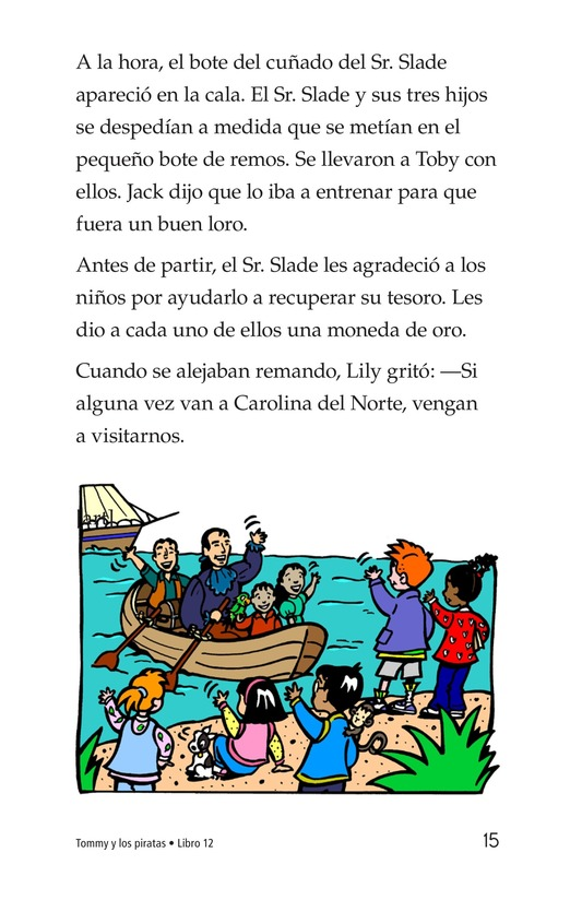 Book Preview For Tommy and the Pirates Page 15