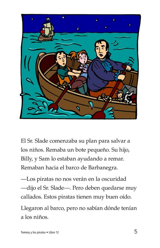 Book Preview For Tommy and the Pirates Page 5