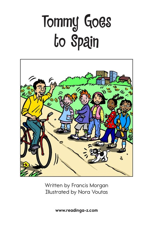Book Preview For Tommy Goes to Spain Page 2
