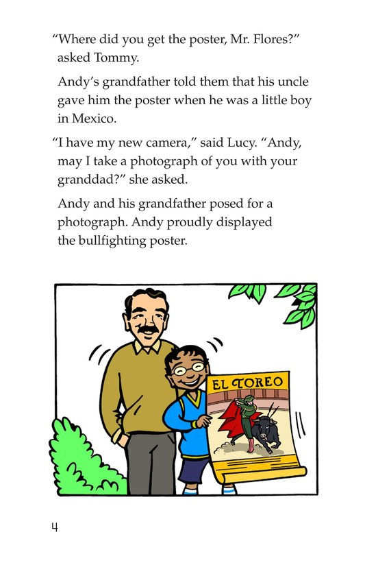 Book Preview For Tommy Goes to Spain Page 4