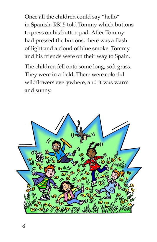 Book Preview For Tommy Goes to Spain Page 8
