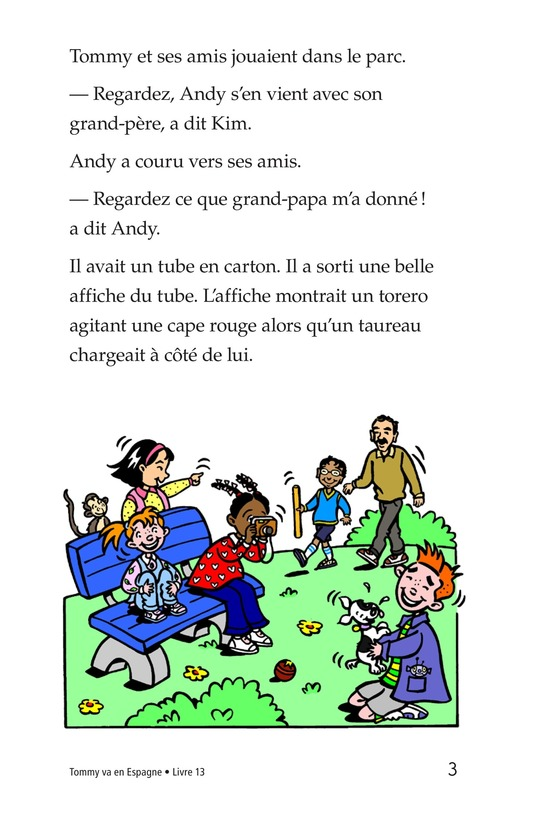 Book Preview For Tommy Goes to Spain Page 3