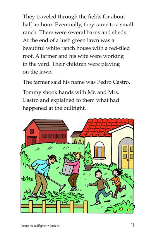Book Preview For Tommy the Bullfighter Page 11
