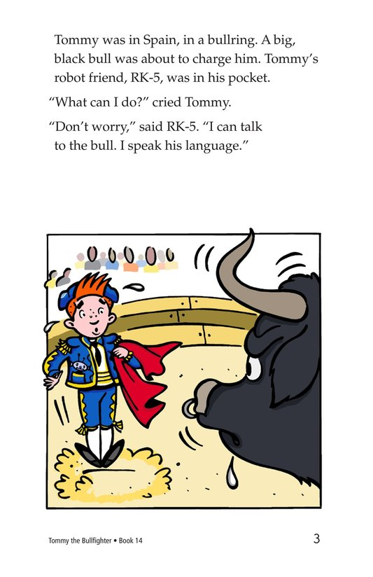 Book Preview For Tommy the Bullfighter Page 3