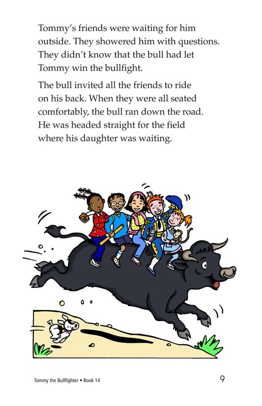 Book Preview For Tommy the Bullfighter Page 9