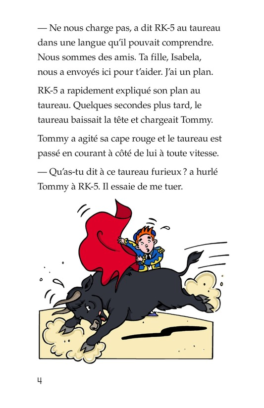 Book Preview For Tommy the Bullfighter Page 4