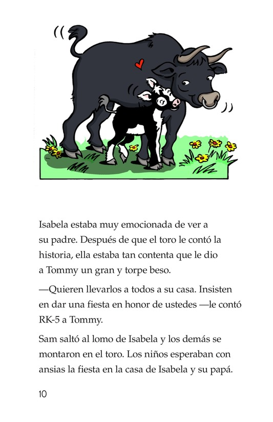 Book Preview For Tommy the Bullfighter Page 10