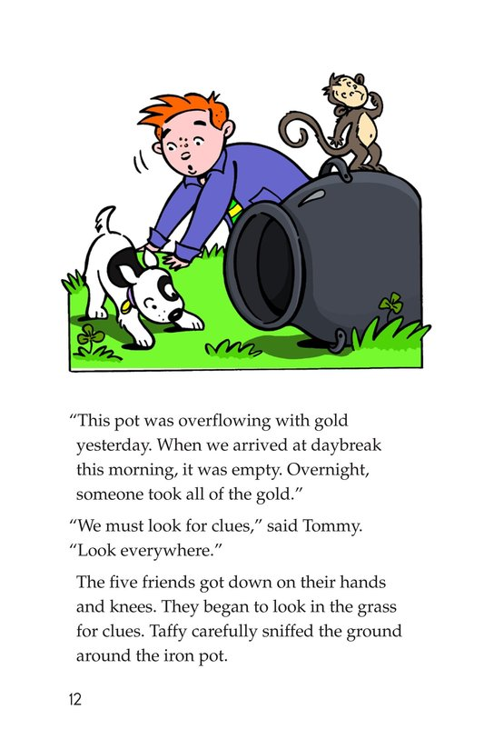 Book Preview For Tommy Goes to Ireland Page 12