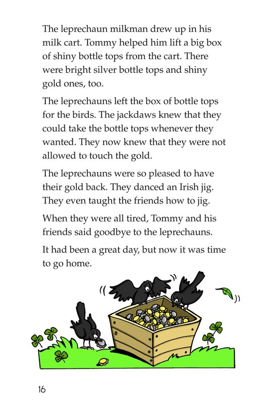 Book Preview For Tommy Goes to Ireland Page 16