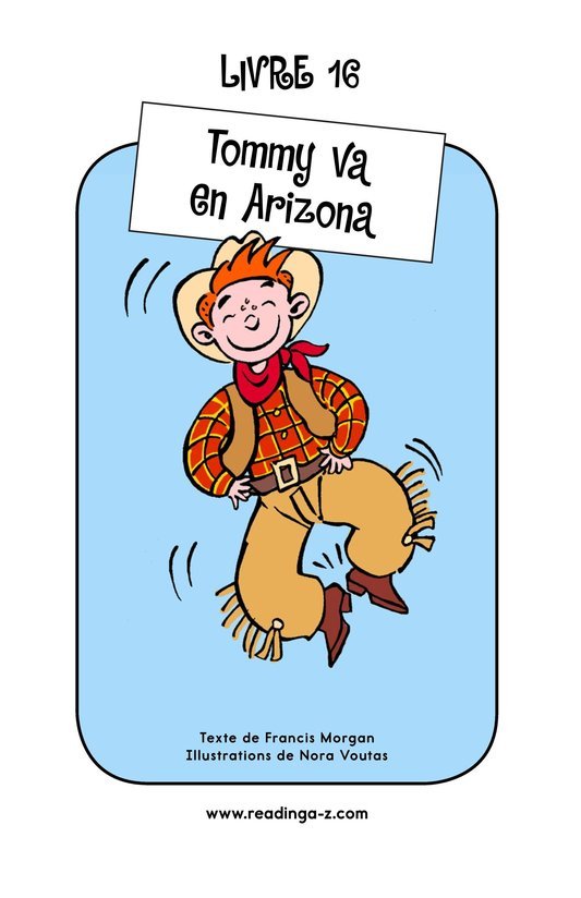 Book Preview For Tommy Goes To Arizona Page 1