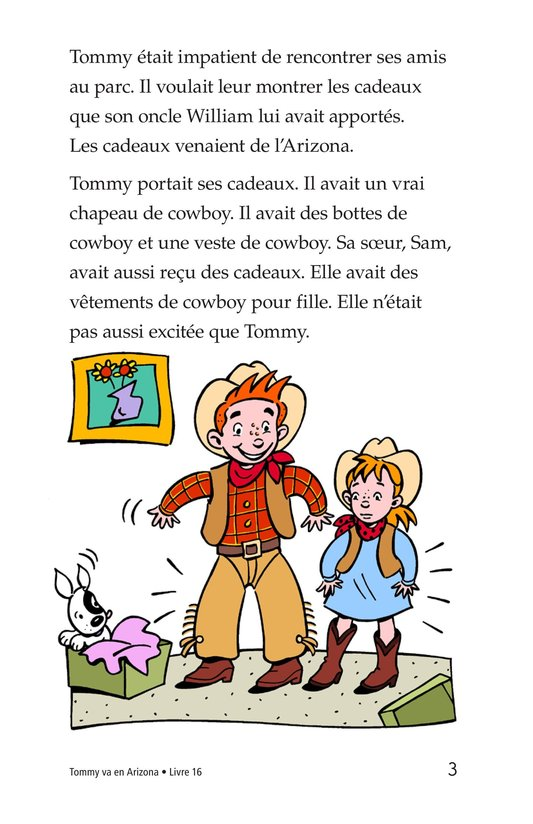 Book Preview For Tommy Goes To Arizona Page 3
