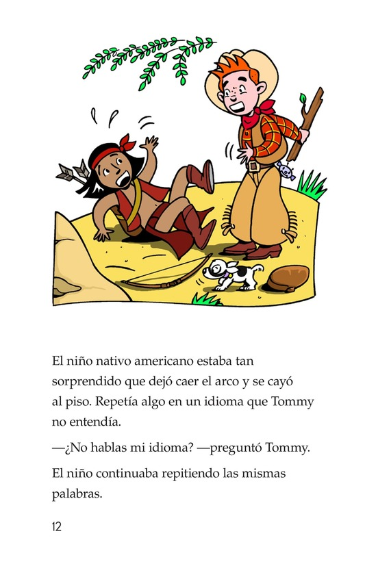 Book Preview For Tommy Goes To Arizona Page 12