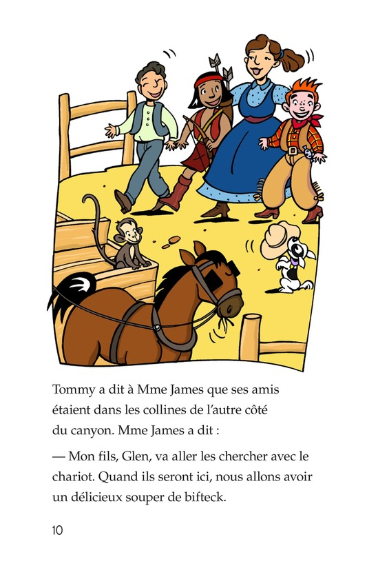 Book Preview For Tommy the Cowboy Page 10