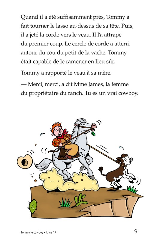 Book Preview For Tommy the Cowboy Page 9