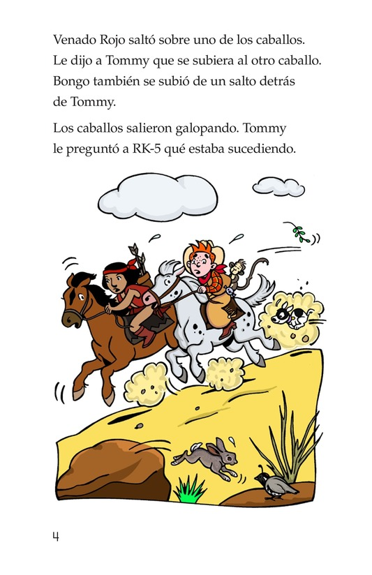 Book Preview For Tommy the Cowboy Page 4
