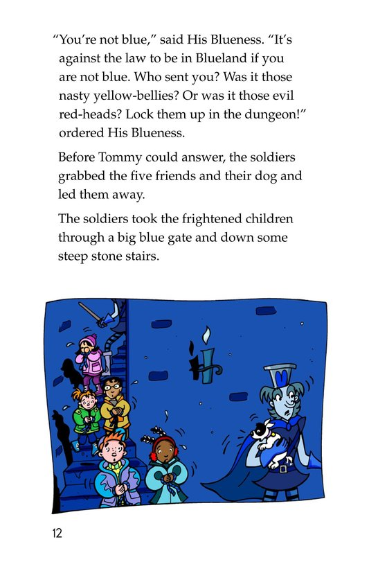 Book Preview For Tommy Goes To Blueland Page 12