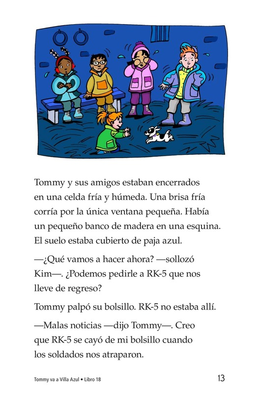 Book Preview For Tommy Goes To Blueland Page 13
