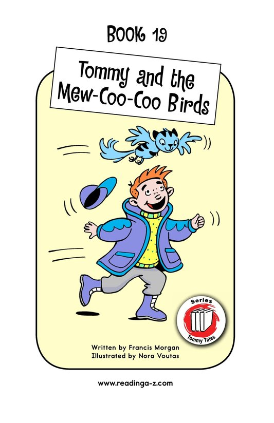 Book Preview For Tommy and the Mew-Coo-Coo Birds Page 1