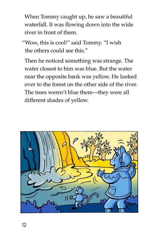 Book Preview For Tommy and the Mew-Coo-Coo Birds Page 12