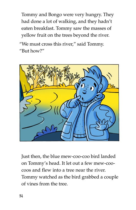 Book Preview For Tommy and the Mew-Coo-Coo Birds Page 14