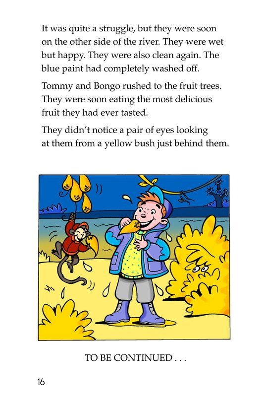 Book Preview For Tommy and the Mew-Coo-Coo Birds Page 16